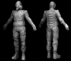 Body double sculpt by Dandoombuggy