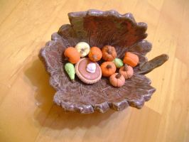 Miniature Squashes and Pumpkins by FroggyDreams