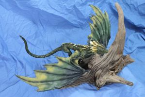 Alternate paint for our Dragon Kit by RavendarkCreations