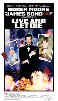 Live and Let Die - Fan Made Poster by ChokaVonChicken
