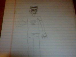 My first drawing of Kevin Katswell from 2007 by Killswitch762