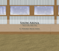 Indoor Arena by Rising-High-Ranch