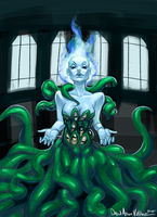 Eldritch Princess by DavidValdez