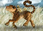 Giddy Up Tiger by Eviecats