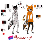 Broken Ref -tw- by TheWolfsFirstWinter