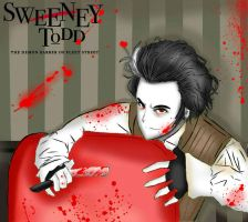 sweeney todd the demon barber of fleet street by Invader-celes