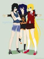 ~.:3 Great Friends:.~ by DororoXPenana