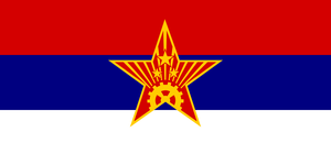 Alt Flag - Socialist Republic of Serbia by AlienSquid