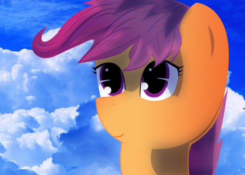Scootaloo by Summer5tar