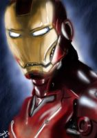 Iron Man by Sanctia
