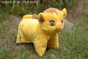 Disneyland Paris Pillow-Pet Simba - TLK by MoondragonEismond