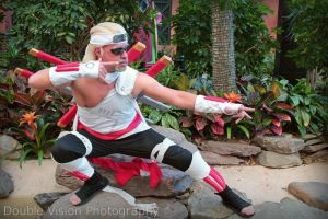 Killer Bee 3 at Katsucon 2014 by kakashi-shishio