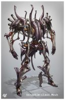 Seraphim Class Mech by CrowtherLindeque
