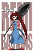 Remi and her big frying pan by NeoSlashott