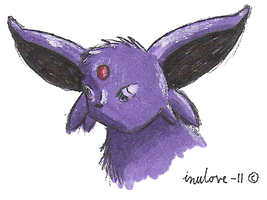 Espeon by inulove-247