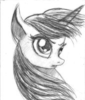 Twilight Sparkle - Sketch by TheLivingShadow