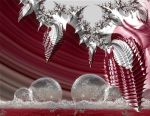 Natural frozen bubbles and fractal icicles by marijeberting