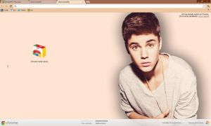 Justin Google Chrome Theme by SloaneRivera