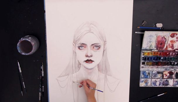 Queen Of Diamonds - new video by agnes-cecile