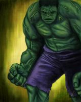The Incredible Hulk by ex0tique