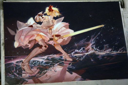 Saber Lily by Angelstorm-82