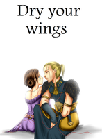 DA:O Dry Your Wings by drathe