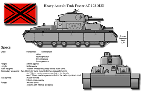 Heavy Assault Tank AT 103M-35 by PatchKatz
