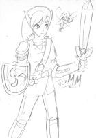 MiniSketch - Link and Fairy by JezMM