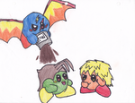 New color pencil test by Kirby-4-ever