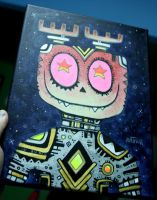 Starry Eyes Painting by Rathur-net