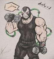 Bane's Warmup by DullVivid