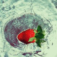 strawberry water by klinter