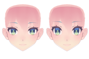 my Tda luka face finished or still a wip who knows by sailor-rice
