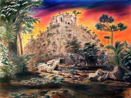 Chichen Itza re-discovered by dx