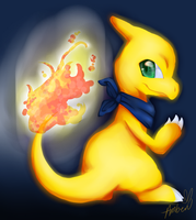 Shiny Charmeleon by Eevie-chu