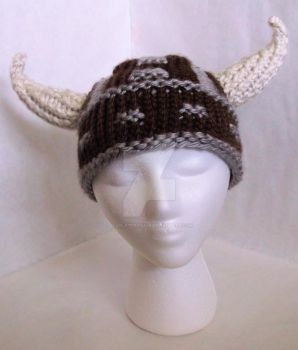 Loom Knit Viking Hat by ScarlettRoyale