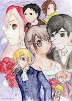 Phantom of the Opera Ouran by twilitprincesses