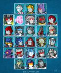 Lil Formers - The TF Alphabet by MattMoylan
