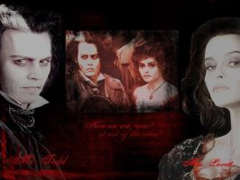Sweeney Todd by PrincessofMadness