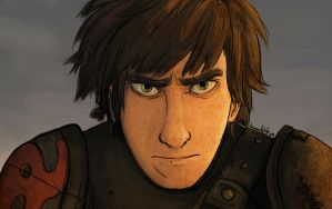 Frustrated Hiccup by heroicartist