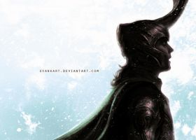 Loki for a fan event by evankart
