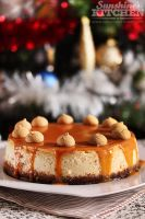 Cheesecake with amaretti and caramel by kupenska