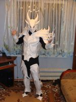 My Daedric Armor from paper by Chelsiec