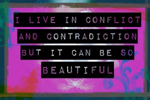 Contradictions by mishellymonster