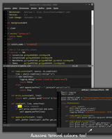 Vitamins Vim Colorscheme by hcalves