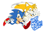 Sonic 25th by ss2sonic
