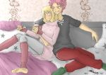 Cuddle-Time (NaLu) by 19Gioia93
