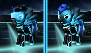 Rick OC update (Tron suit) by SRicK91