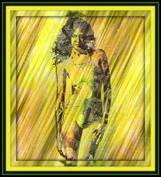 Splayed Yellow Desire by booblues