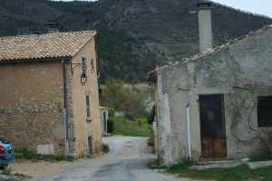 houses on our way provence by ingeline-art